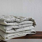Для дома и интерьера handmade. Livemaster - original item Linen blanket