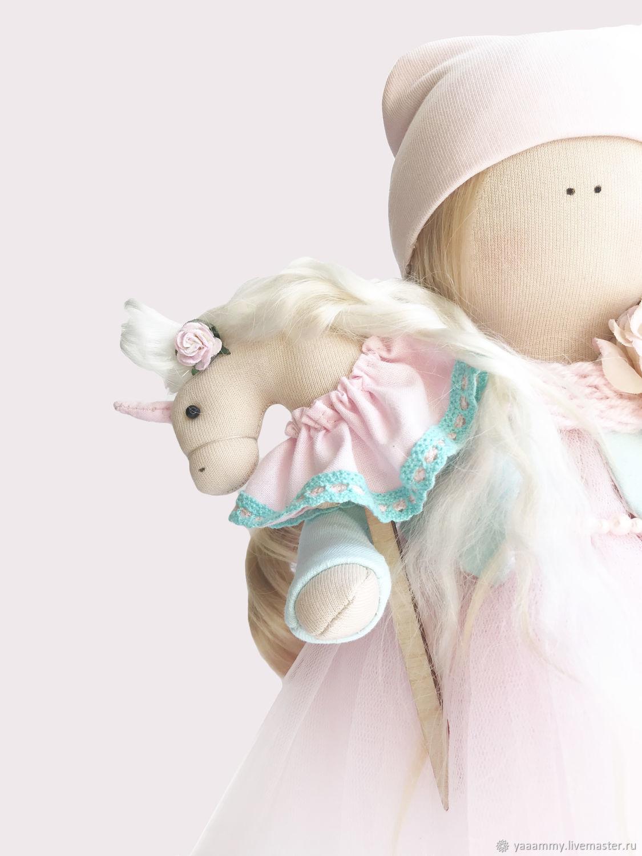 "Куколка ""Magical Unicorn"", Куклы Тильда, Уфа,  Фото №1"