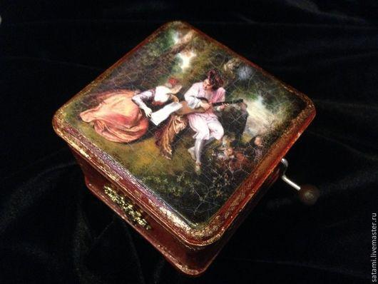 Шкатулки ручной работы. Ярмарка Мастеров - ручная работа. Купить Старинная шарманка. Handmade. Шкатулка ручной работы, изящный подарок
