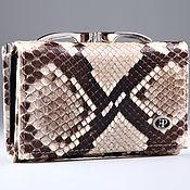 Сумки и аксессуары handmade. Livemaster - original item Women`s python leather wallet with ferumar IMP0059Z. Handmade.