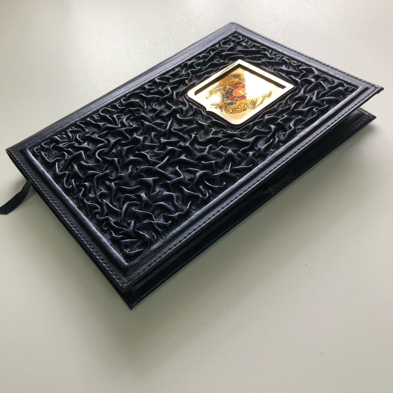 Кожаный ежедневник Армения ручная работа, Именные сувениры, Ессентуки,  Фото №1
