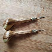 Инструменты ручной работы. Ярмарка Мастеров - ручная работа Шило с цанговым зажимом Amy Roke 3.38 мм и 3,85 мм. Handmade.