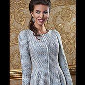 Одежда ручной работы. Ярмарка Мастеров - ручная работа Платье-кардиган из ткани Chanel. Handmade.