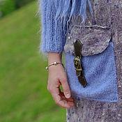 """Одежда ручной работы. Ярмарка Мастеров - ручная работа Пальто войлок """"CRISPY"""". Handmade."""