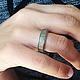 Кольца ручной работы. Серебряное кольцо,дерево,свадьба, обручальное,свадьба. VaKaDi. Ярмарка Мастеров. Кольцо серебряное, ручная работа