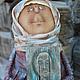 Коллекционные куклы ручной работы. Ярмарка Мастеров - ручная работа. Купить Лики.... Handmade. Коричневый, интерьерная кукла, краски акриловые
