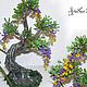Деревья ручной работы. Деревце из бисера, украшение для дома или офиса.. Светлана. Бисерянка Цветы букеты. Интернет-магазин Ярмарка Мастеров.
