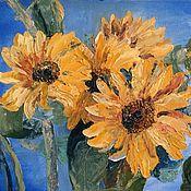 Картины и панно handmade. Livemaster - original item Oil painting on canvas