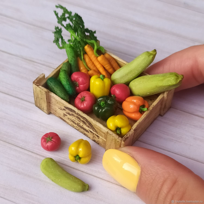 Овощи в миниатюре 1:12, Кукольная еда, Москва,  Фото №1