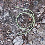 Фен-шуй и эзотерика handmade. Livemaster - original item Nettle thread amulet. Handmade.
