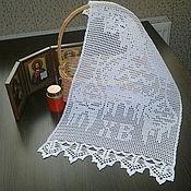 Для дома и интерьера ручной работы. Ярмарка Мастеров - ручная работа Пасхальное полотенце, пасхальная салфетка, пасха, пасхальная накидка. Handmade.