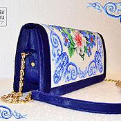 Сумки и аксессуары handmade. Livemaster - original item Exclusive bag made of pony fur handmade beaded Maiolica. Handmade.