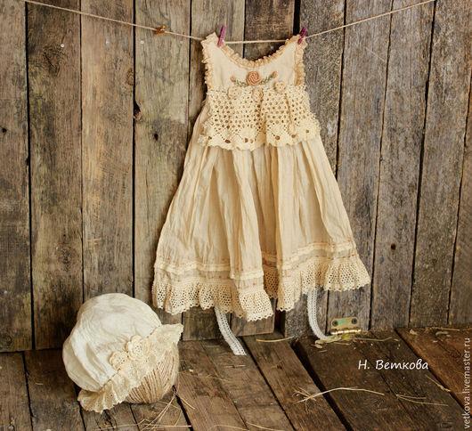 Одежда для кукол ручной работы. Ярмарка Мастеров - ручная работа. Купить Одежда для кукол состарена травами ручная работа. Handmade.