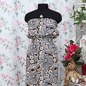 Одежда ручной работы. Ярмарка Мастеров - ручная работа Платье Летний вечер.... Handmade.