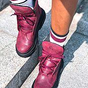 Ботинки ручной работы. Ярмарка Мастеров - ручная работа Ботинки из натуральной кожи ручной работы. Handmade.
