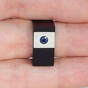 Украшения handmade. Livemaster - original item sapphire ring.. Handmade.