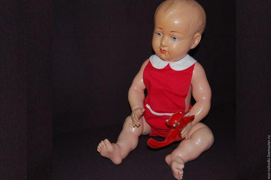 Винтажные куклы и игрушки. Ярмарка Мастеров - ручная работа. Купить Старинный французский малыш Petit Colin, рост 60см. Handmade.