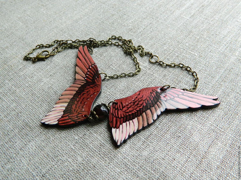 Кулон крылья