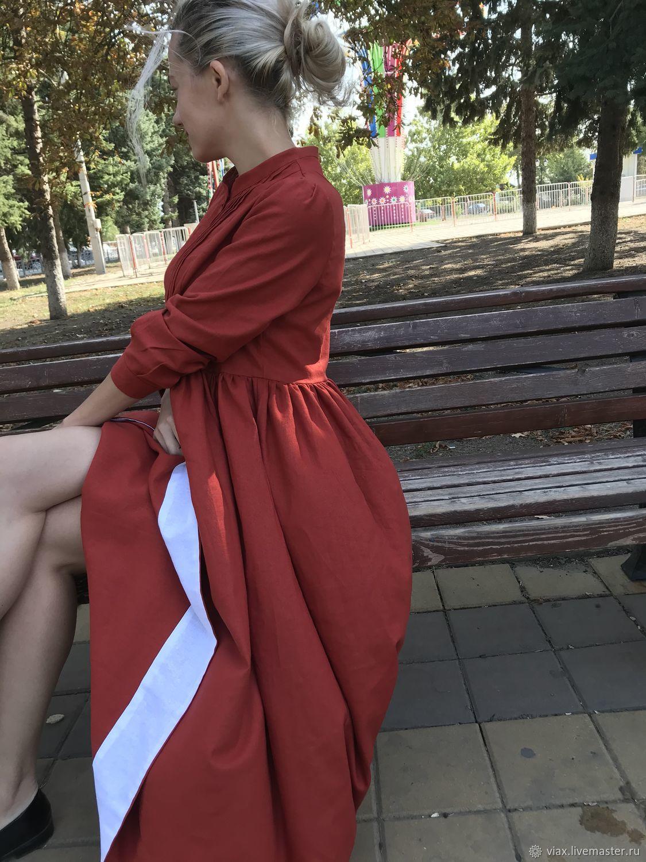 """Платье изо льна """" Терра """", Платья, Ростов-на-Дону,  Фото №1"""