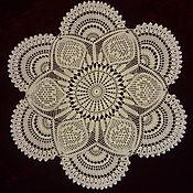Для дома и интерьера handmade. Livemaster - original item Lace doily crochet