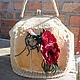 """Женские сумки ручной работы. Ярмарка Мастеров - ручная работа. Купить сумка"""" ИЮлька"""",повтор в цвете беж.. Handmade. Бежевый"""