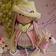 Коллекционные куклы ручной работы. Текстильная куколка- малышка Леся. Юлия Соколова. Ярмарка Мастеров. Кукла интерьерная, кукольная обувь