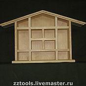 Куклы и игрушки ручной работы. Ярмарка Мастеров - ручная работа Домик деревянный. Handmade.