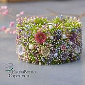 Украшения handmade. Livemaster - original item Blooming glade bracelet. Handmade.