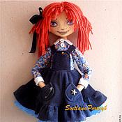Куклы и игрушки ручной работы. Ярмарка Мастеров - ручная работа Текстильная кукла Фенька. Handmade.