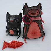 Куклы и игрушки ручной работы. Ярмарка Мастеров - ручная работа Два толстяка. Handmade.