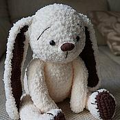Куклы и игрушки handmade. Livemaster - original item Bunny Chocolate. Handmade.