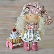 Куклы и игрушки ручной работы. Ярмарка Мастеров - ручная работа куколка малышка ПИРОЖЕНКА. Handmade.