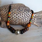 """Украшения handmade. Livemaster - original item Бусы """"Африка"""". Handmade."""
