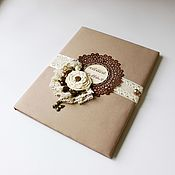 Канцелярские товары handmade. Livemaster - original item The folder of family documents