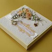 Подарки к праздникам ручной работы. Ярмарка Мастеров - ручная работа Набор шоколада на свадьбу. Handmade.