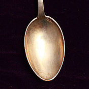 Серебряная ложка. Винтаж 1953 год.