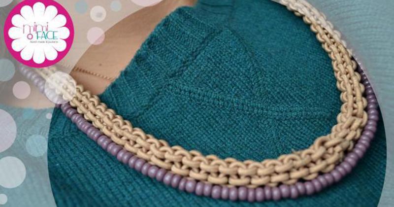 Колье плетеное своими руками фото 709