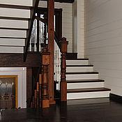 Для дома и интерьера ручной работы. Ярмарка Мастеров - ручная работа Лестница из дуба. Handmade.