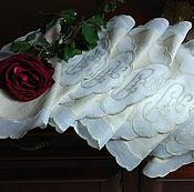 Винтаж handmade. Livemaster - original item Set of vintage napkins for serving. Handmade.