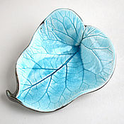 Для дома и интерьера ручной работы. Ярмарка Мастеров - ручная работа Керамический лист «Нежность – 3». Handmade.