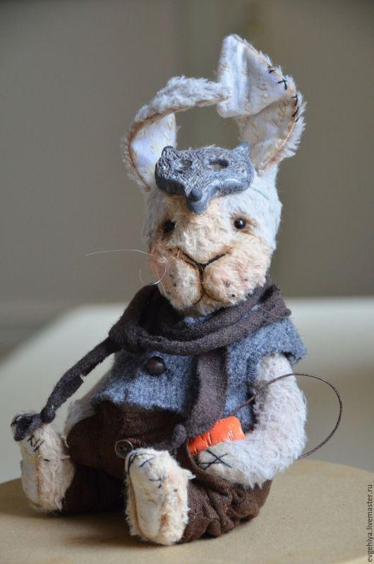 Мишки Тедди ручной работы. Ярмарка Мастеров - ручная работа. Купить Кроль. Handmade. Серый, интерьерная игрушка, металлический гранулят