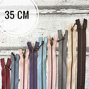Материалы для творчества ручной работы. Ярмарка Мастеров - ручная работа Молнии YKK японские цветные 35 см в ассортименте. Handmade.