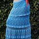 Юбки ручной работы. Заказать ажурная вязаная юбка в пол, юбка крючком,. Ирина Мажуга (Мультан) (MIRA060609). Ярмарка Мастеров.