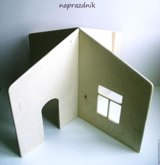 Кукольный дом ручной работы. Ярмарка Мастеров - ручная работа. Купить Кукольный домик для игр разборный. Handmade. Белый