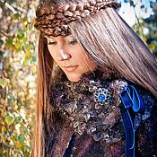 Одежда ручной работы. Ярмарка Мастеров - ручная работа Авторское валяное пальто РЕЗЕРВ. Handmade.