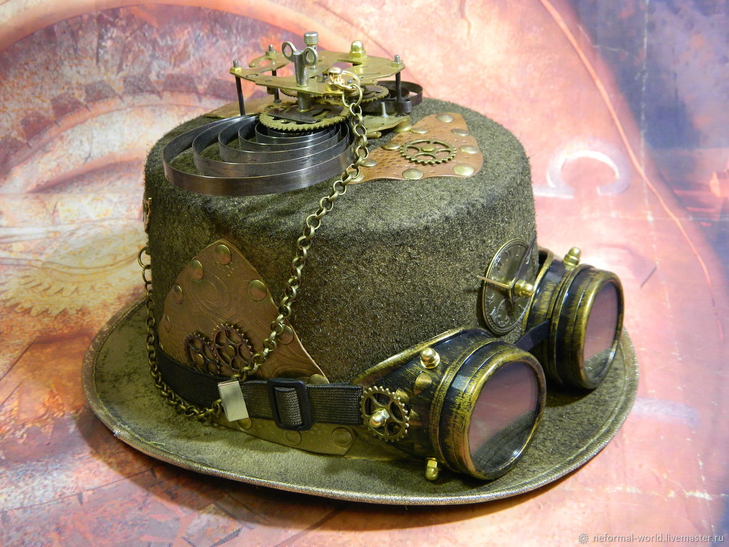 """Hat Steampunk Goggle and """"Steampunk Gentleman"""", Subculture Attributes, Saratov,  Фото №1"""