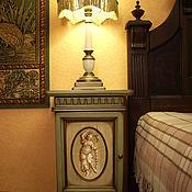 Для дома и интерьера ручной работы. Ярмарка Мастеров - ручная работа Тумба прикроватная Мебель для спальни. Handmade.