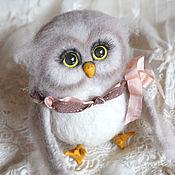 Куклы и игрушки handmade. Livemaster - original item Hedwig owl toy from wool. Handmade.