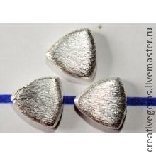 Артикул 4703 Цена за 1 бусину! Купить бусины серебро!