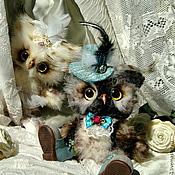 Куклы и игрушки ручной работы. Ярмарка Мастеров - ручная работа Совята Мартин и Майя. Handmade.